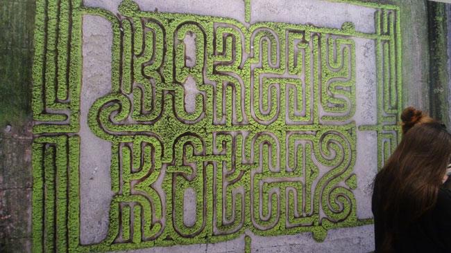 Exhibit on Labyrinths