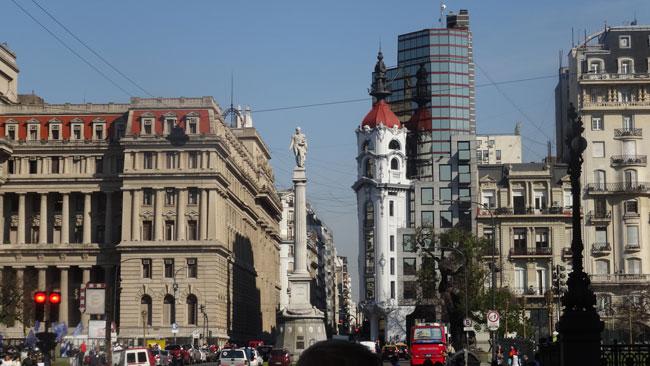 Morning Walk Through Buenos Aires