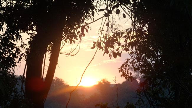 Sunset From our Veranda