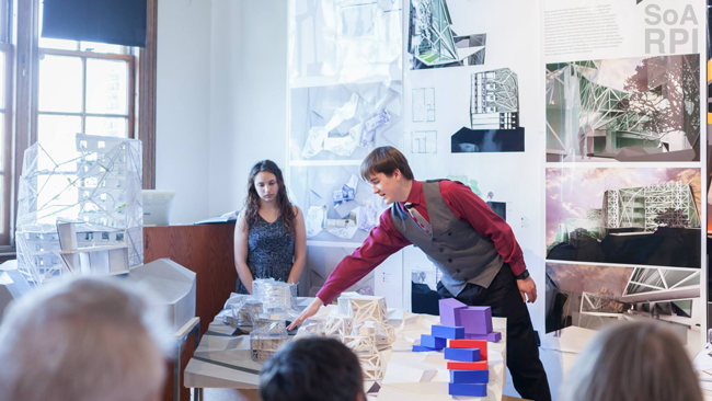 Pearson and Hulse Present at Housing Design Honors Review